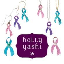 For every Cancer Awareness Ribbon piece of jewelry sold throughout the year, $5 will go toward providing services and support directly to those in need through the Breast & GYN Health Project.